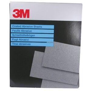 3M 01972 Wet/Dry Abrasive Paper 734 P800 25 SHEETS