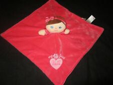 Baby Starters My First Doll Plush Hot Pink Security Blanket Lovey