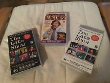 3x The Late Show Best Bits 1,2 & Bargesrse VHS Tapes Classic Australian Comedy