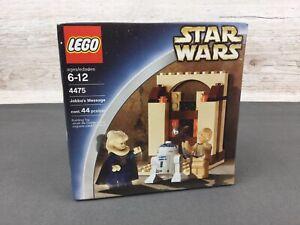 Vintage Lego Star Wars (2003) ~ Set 4475 ~ Jabba's Message ~ MISB~ New/Sealed