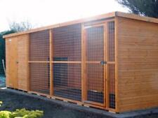 LARGE DOG KENNEL AND RUN.  15ft x 5ft (cats, rabbits) CHEAP UK WIDE DELIVERY