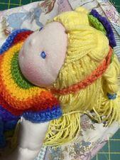 Handmade eco Project Waldorf Styled Doll Rainbow