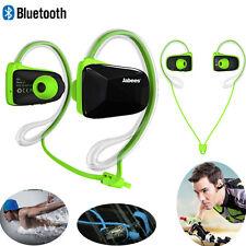 Jabees Bluetooth Wireless Waterproof Anti-sweat Headsets Headphone Earphone UK