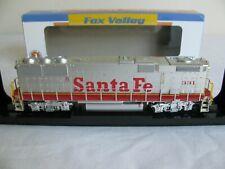 Fox Valley Models 331 Santa Fe GP60B Diesel w/ DCC & ESU Lok Sound #20152-S EX