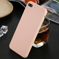 Shockproof Thin Soft TPU Silicone Matte Back Case Cover for iPhone 6 6s 7 8 Plus