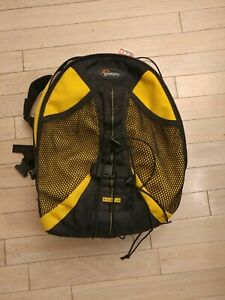 Lowe Pro yellow & black Camera backpack weather&water resistant slightly used