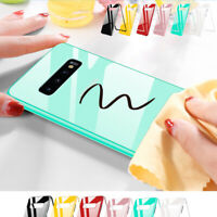 9H Tempered Glass Case For Samsung S10 5G S9 S8+ Plus S7 with Screen Protector