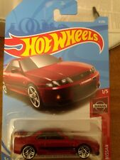 2018 Hot Wheels Red Nissan Skyline Gt-R Nissan