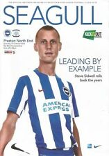 Preston North End Home Team Football Programmes
