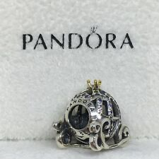 Sterling Silver Charm CARROZA CENICIENTA Disney ALE S925 Genuine Pandora bag