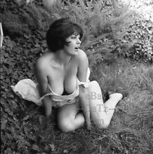1960s Negative, busty brunette pin-up girl Jolee Simmons, cheesecake t265742