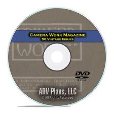 Camera Work Magazine, 50 Magazines, 1903-1917 American Photo Art History DVD D06