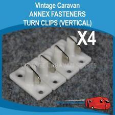 Caravan ANNEX FASTENERS  TURN CLIPS ( VERTICAL ) Vintage Viscount, A0126
