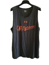 BALTIMORE ORIOLES MENS MAJESTIC ATHLETIC TANK TOP SHIRT NEW WITH TAGS