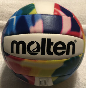 NEW Molten MS500-TD Volleyball Tie Dye Multi-Color