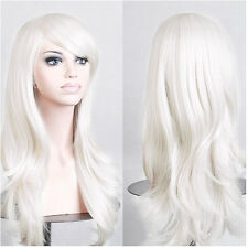 Long Straight Wave Cosplay Wig Halloween Anime Party Costume Full Wigs Synthetic