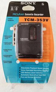 Sony TCM-353V Cassette Recorder