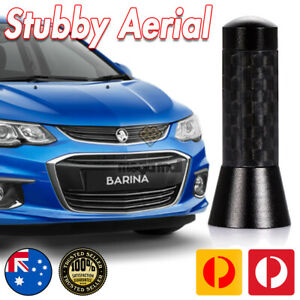 Antenna / Aerial Stubby Bee Sting for Holden Barina SRI Black Carbon