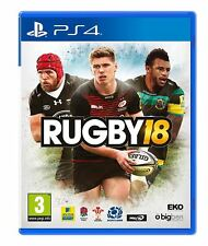 Rugby 18 PS4 Game Brand New Sealed Official UK PAL Sony PlayStation 4