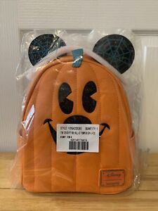 Loungefly Pumpkin Mickey 2020 Brand New In Packaging