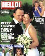 HELLO MAGAZINE #859 PERRY FENWICK & ANGELA LONSDALE, ROD STEWART, NICOLE KIDMAN
