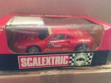 M/b Scx Ferrari Gto Cimmaron librea roja ref 4075 Raro en Caja de Scalextric