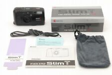 �Mint in Box】Kyocera Slim T Yashica T4 Point & Shoot Film Camera from Japan #v08