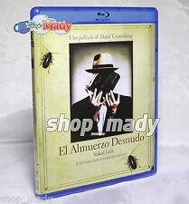 Naked Luch - El Almuerzo Desnudo Blu-Ray Subtitulada en Español Multiregion New!