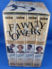 BBC Complete (4) FAWLTY TOWERS Boxed Collection VHS VIDEO Set VG - In Australia