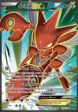 Scizor ex/scherox ex - 119/122 xy9 point d'arrêt-ex carte anglais NM pokemon
