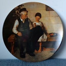 """""""The Lighthouse Keeper's Daughter� ~ Norman Rockwell ~ 8½"""" Collectors Plate"""