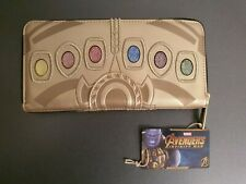 Marvel Infinity guerre Loungefly Purse, THANOS INFINITY GAUNTLET, neuf avec étiquettes