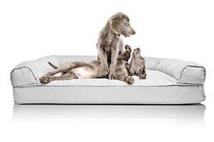Big Dog Bed Sofa Pet Couch Sleeping Mattress Cushion Orthopedic foam Jumbo XXL