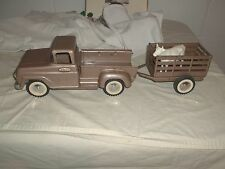 Vintage Tonka Pick up Truck With Trailer