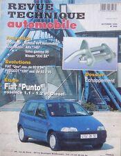 Revue technique FIAT PUNTO essence 1.1 1.2 et DIESEL RTA 566 1994 + UNO + 106
