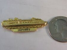 INFINITY CELEBRITY CRUISE LINE SHIP TRAVEL PIN