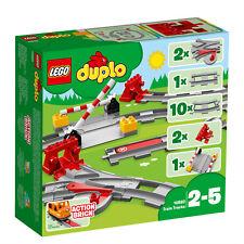 LEGO Duplo 10882 Eisenbahn Schienen Train Tracks Les rails du train VORVERKAUF