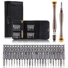 25 PC MINI PRECISION SCREWDRIVER SET FOR WATCH JEWELRY ELECTRONIC REPAIR Y