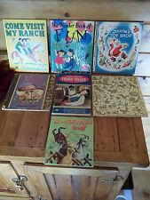 Vintage children`s books lot of 7