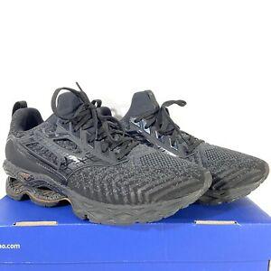 Mizuno Wave Creation Waveknit 2 In Box Black Shoes J1GC203309