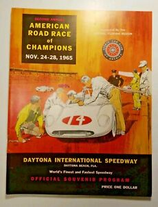 1965 2ND Annual American Road Race of Champions - OFFICIAL RACE PROGRAM