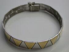 Armband teils vergoldet Silber 925