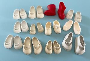 Vintage Clothes: Doll Shoes Ideal Toni Shirley Temple Tiny Tears Saucy Walker