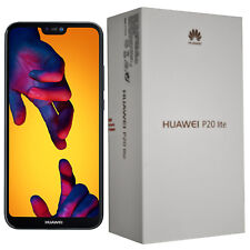 NUOVO Con Scatola Huawei P20 Lite ANE-LX1 64GB Nero SINGLE-SIM Sbloccato Di Fabbrica 4G SIMFREE