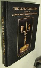 The Lear Collection Book on A.D. 200-1700 Brass Socket Candlesticks,225+ Pieces