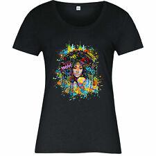 Afro Hair Ladies T-shirt, Women empowerment Movement Anti Discrimination Tee Top