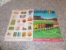 ALBUM CALCIATORI PANINI 1964-65 1965 Q.COMPLETO(-8 SCUDETTI E 57 FIG)ORIG.MB/OTT