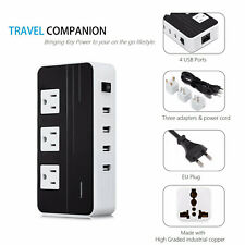 LESHP Power Voltage Converter 220V to 110V Travel Adapter Universal 200W