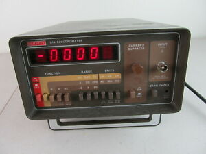 Keithley 614 Digital Electrometer, Triaxial Input