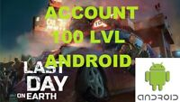 Last Day on Earth Survival Account ONLY Android